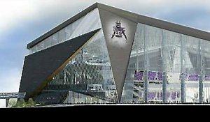 A rendering of the proposed Vikings stadium. (Courtesy Minnesota Vikings)