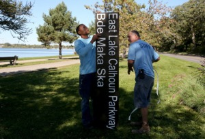 restoring Lake Calhoun name