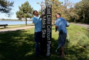 restoring Lake Calhoun name